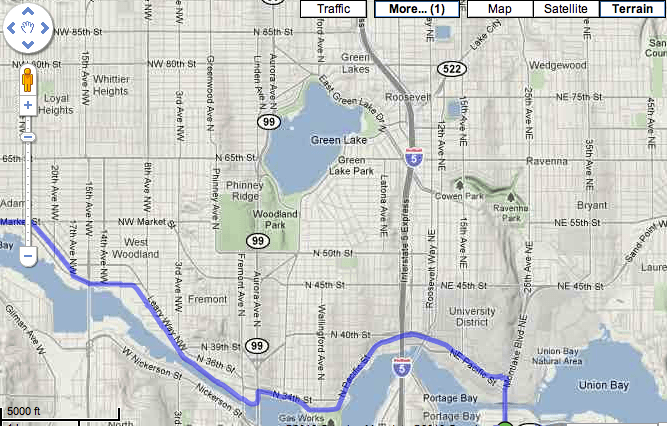 Google Adds Biking Directions to Maps