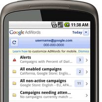 Google Gives AdWords a Mobile Interface
