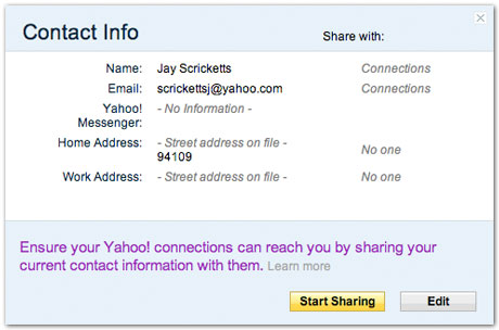 Yahoo Rolls Out Auto-Updating Address Book