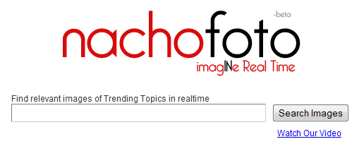 Nachofoto – Real-time Image Search Engine