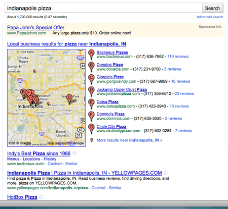 Optimizing Local Search