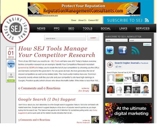 The Search Engine Journal Redesign – the Developer'sStory