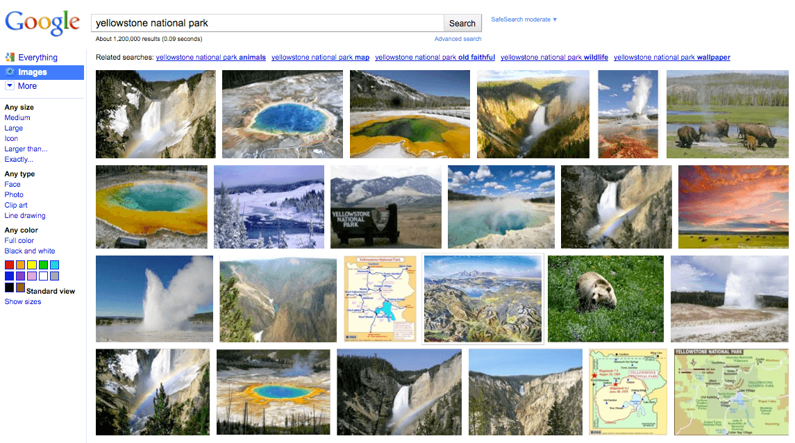 Google Refreshes Image Search with More Images