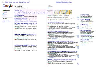 Google Local SERP