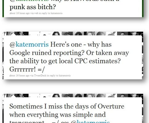 Back in the Olden Days of PPC