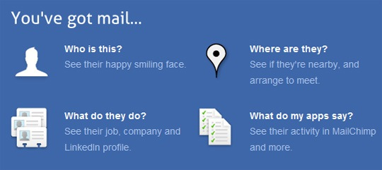 Gmailing is Much More Social with Rapportive