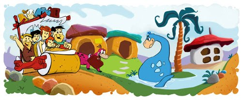 """Google Celebrates """"The Flintstones"""" 50th Anniversary With a Doodle"""