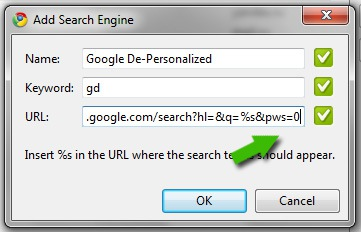 Change Default Search Engine in Google Chrome