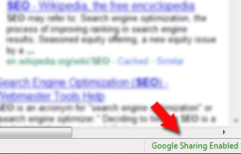 Experiment with Google Search Results with GoogleSharing