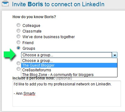Linkedin Networking: Groups
