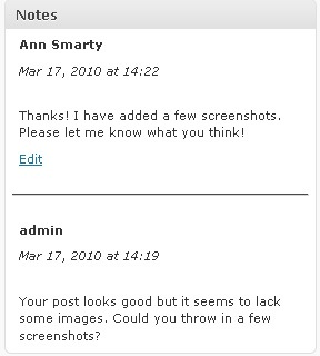 Peter's Post Notes for WordPress