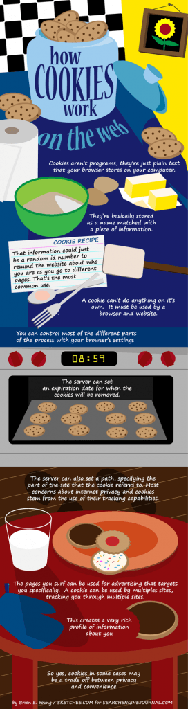 What are Cookies and What They do for Privacy (Infographic)