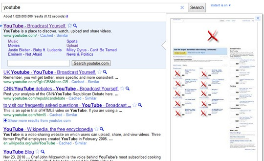 Google Instant Preview: The Visual Aspect of SEO