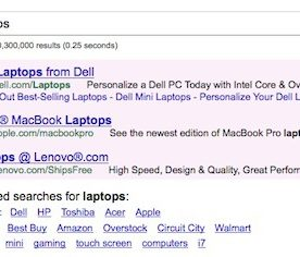 """Google's """"Related Searches"""" Now Include Brands, Types, and Stores in Results"""