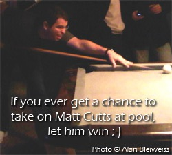Matt Cutts - Pool Shark