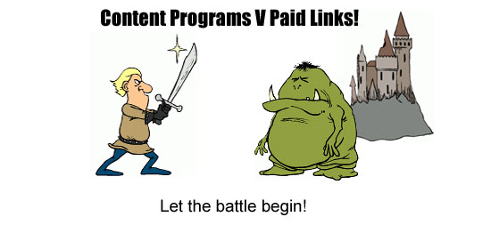 Paid Links Debate