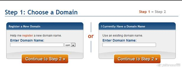 Hostgator checkout process