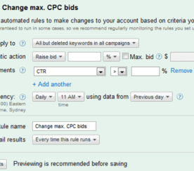 Google AdWords Automated Simplicity