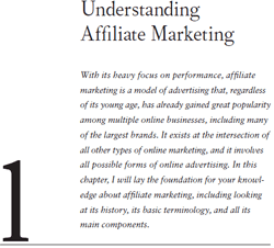 Affilite marketing book - introduction