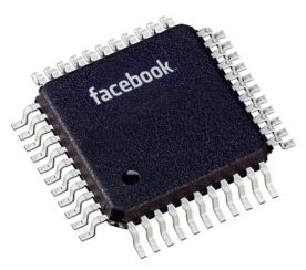 Facebook Microchip- Store your 'Likes' and Check-ins