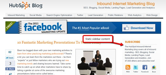 SEO For The Oft-Neglected Blog Home Page