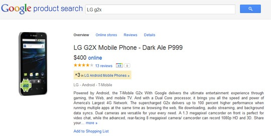Google Shopping: God is in the Details