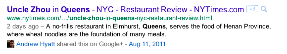 Google Brings Public Plus Posts to the SERP