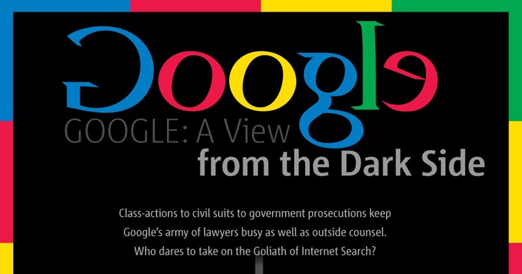 the dark side of success google in the courtroom search engine