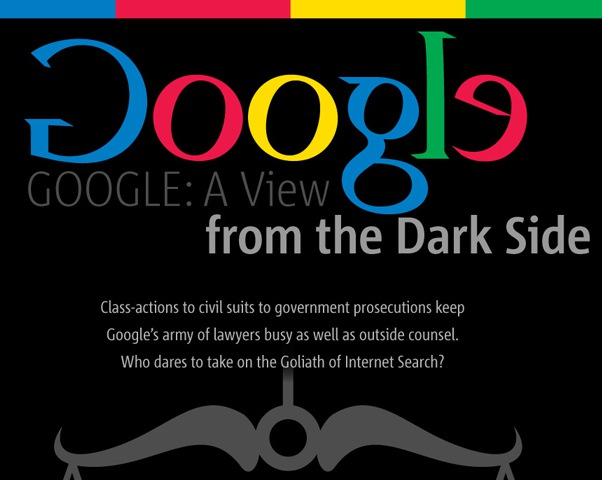 The Dark Side of Success: Google in the Courtroom
