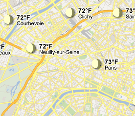 Google Adds Weather to Maps