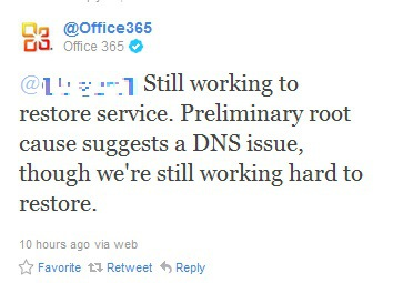 Microsoft's Cloud Based Office 365 Experiences Second Major Outage in Less Than a Month