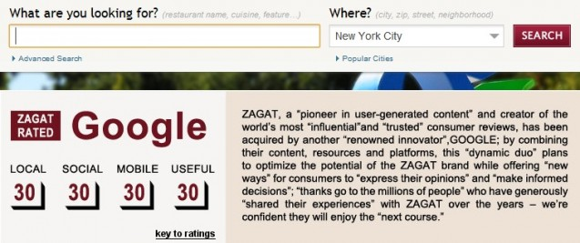 Zagat Screencap