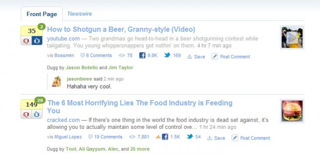 "Digg Launches ""Newsrooms"" in Private Beta"