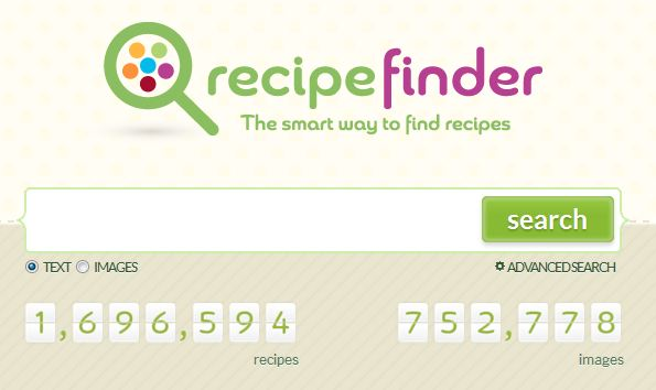 Recipe Finder's Search Engine Entering the Portal Niche