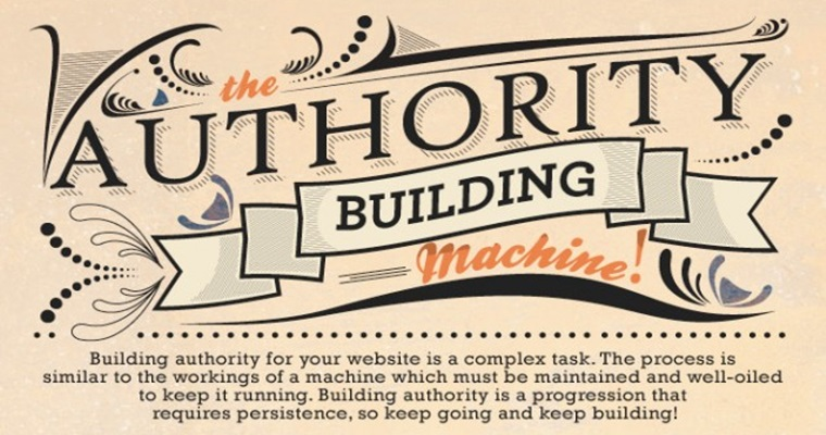 The Authority Building Machine [INFOGRAPHIC]