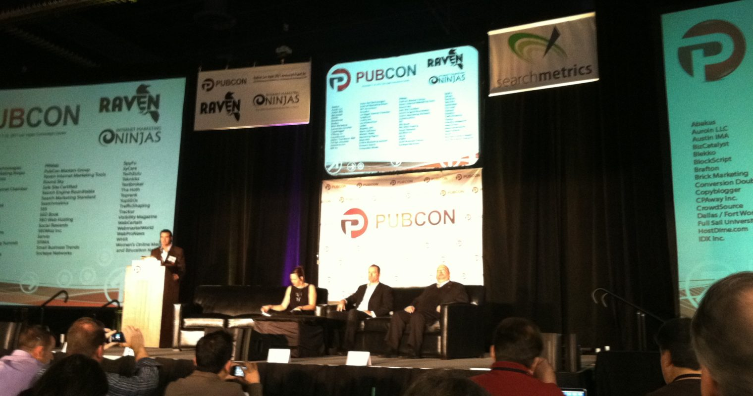 #pubcon LiveBlog: Enterprise Level SEO with the Best in the Business