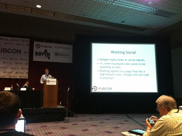 aaron shear speaking on linkbuilding