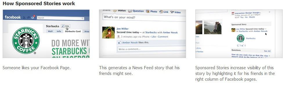 facebook news feed sponsored stories