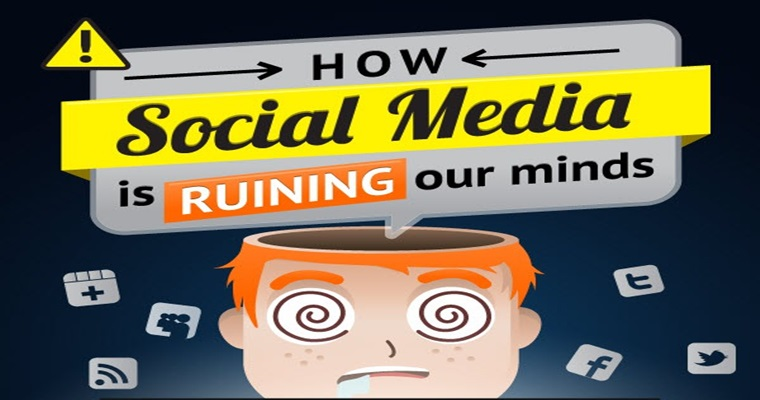 Is Social Media Ruining Our Minds? [INFOGRAPHIC]