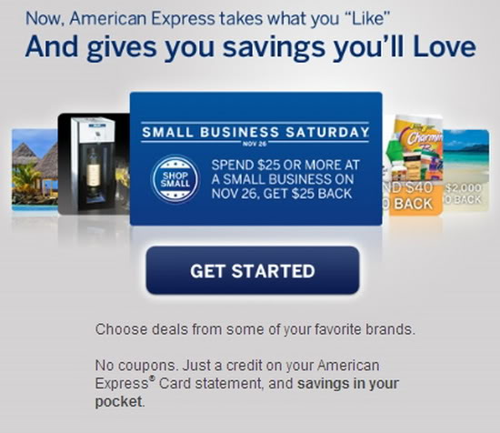 American Express on Facebook