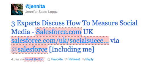 Salesforcetweet
