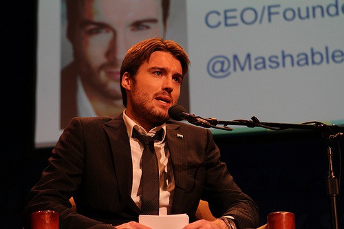 pete cashmore founder mashable
