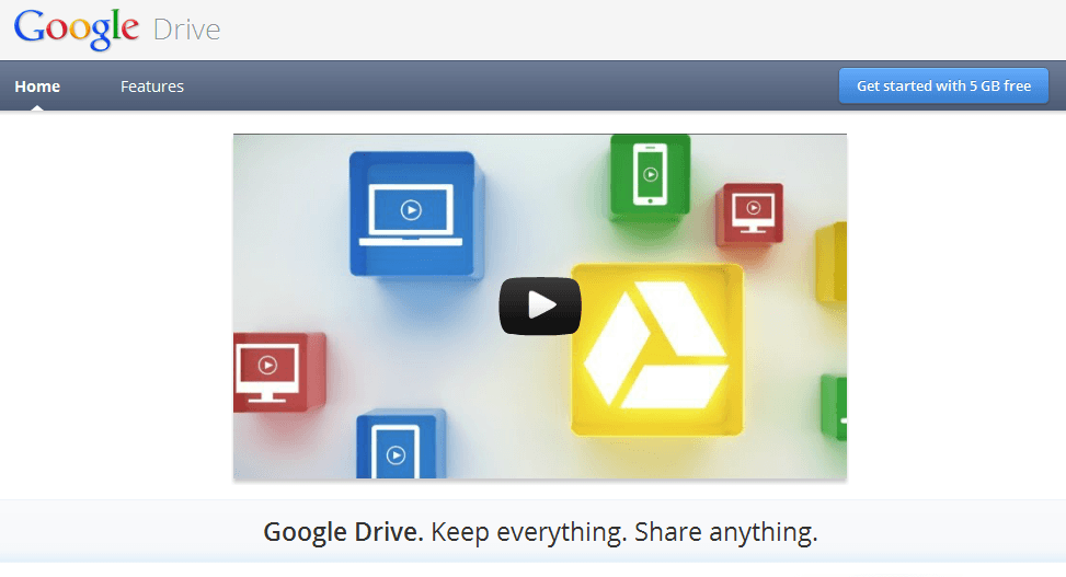 Dropbox Nightmare Confirmed: Google Drive is Live!
