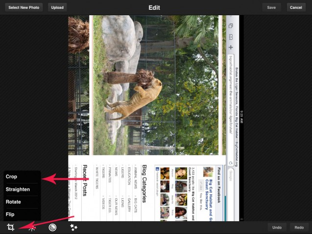 How to Take Screenshots with an iPad, Plus Editing Images with Photoshop App