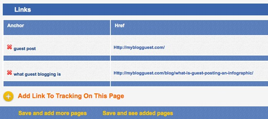 Link tracking with MyBlogGuest Tracker