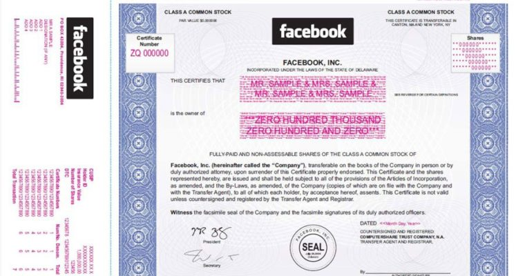 Facebook Update: Higher Target IPO Price Resulting in Stakeholder Liquidation