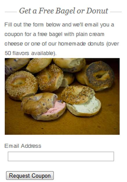How a Local Bakery Grew Its Mailing List from 3 to 300