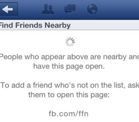"""Facebook """"Find Friends Nearby"""" Feature Quietly Launches"""