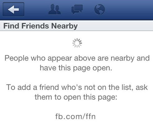 "Facebook ""Find Friends Nearby"" Feature Quietly Launches"