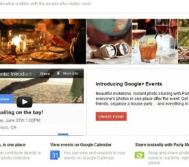 Google+ Events Invites You to Help Make Evite Obsolete